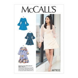 McCall's Misses' Dresses M7832 - Sewing Pattern