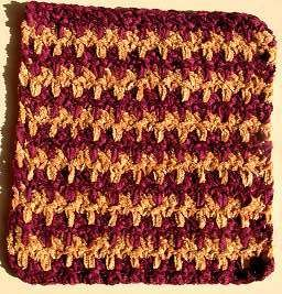 Washcloth in Crystal Palace Yarns Cotton Chenille