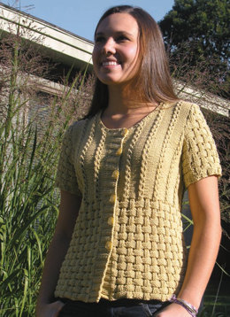 Maizie Cardigan in Knit One Crochet Too Dungarease - 1892