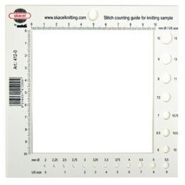 Addi Stitch Counting Frame & Needle Gauge