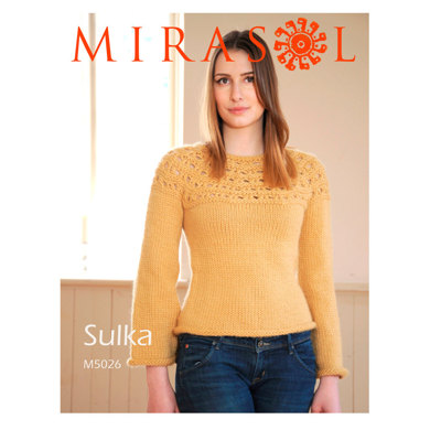 Patterned Yoke Jumper in Mirasol Sulka - 5026