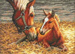 Dimensions Good Morning Cross Stitch Kit - 17cm x 12cm