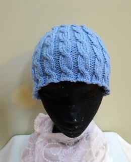 Cabled Cloche