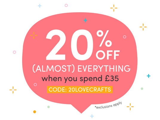 Today only! 20 percent off (almost) everything when you spend £35. Code: 20LOVECRAFTS