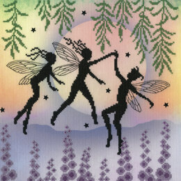 Bothy Threads Fairy Dance Cross Stitch Kit - 26cm x 26cm