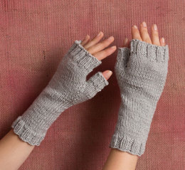 Easy Mitts in Classic Elite Yarns Ava - Downloadable PDF