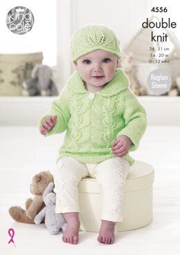 Baby Set in King Cole DK - 4556 - Downloadable PDF