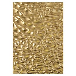 Sizzix 3D Textured Impressions Embossing Folder By Tim Holtz - Crackle