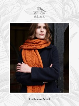 Willow & Lark Ramble Catherine Scarf 11 Knäuel Projekt-Set