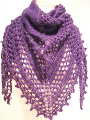 Blueberry shawl
