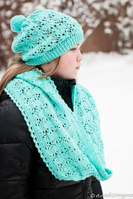 Kiss of Frost Scarves and Cowl
