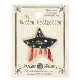 Mill Hill Button 86229 - Old Star Flag