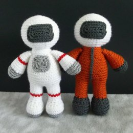 Alan and Yuri the Astronauts