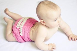 Girly Ruffle Pants - diaper cover