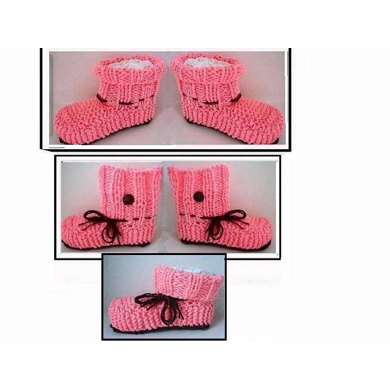 626, UNISEX KNITTED SLIPPERS, Adult