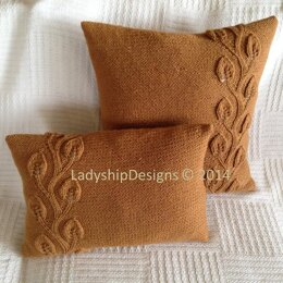 Climbing Leaves Pillow Cover