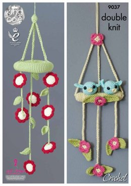 Baby Mobiles Toys in King Cole Bamboo Cotton DK - 9037 - Leaflet