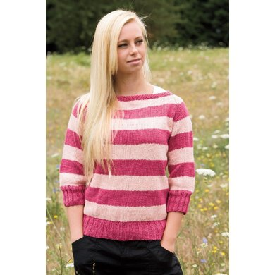 Seamless Boatneck Sweater Knitting Pattern By Jenise Hope Knitting