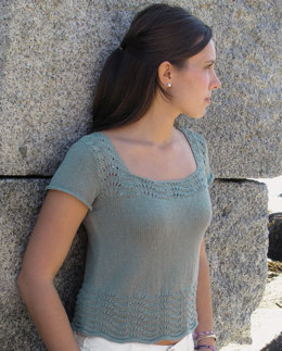 Monhegan Tee by Knit One Crochet Too Pediwick - 1906 - Downloadable PDF