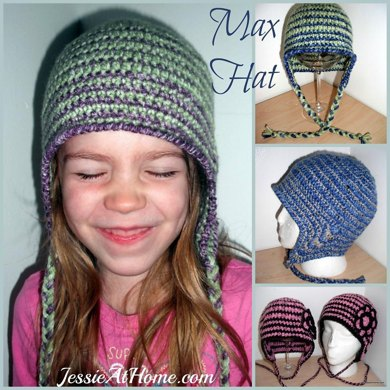 Max Ear Flap Hat ~ All Sizes