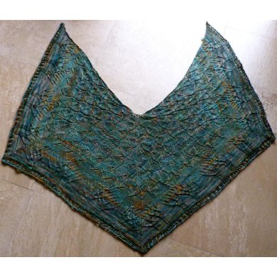 Into the Forest Square Shawl