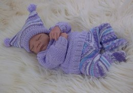 Baby Sweater, Leggings and Hat Pattern 55