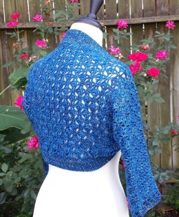 Filigree Lace Shrug