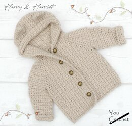 Harry & Harriet Hooded Bear Jacket