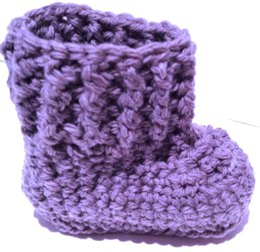 Oh Baby ! Crocheted Baby Bootie