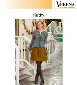 Kathy Strickjacke von Verena in Lana Grossa Royal Tweed & Silkhair Melange - Downloadable PDF