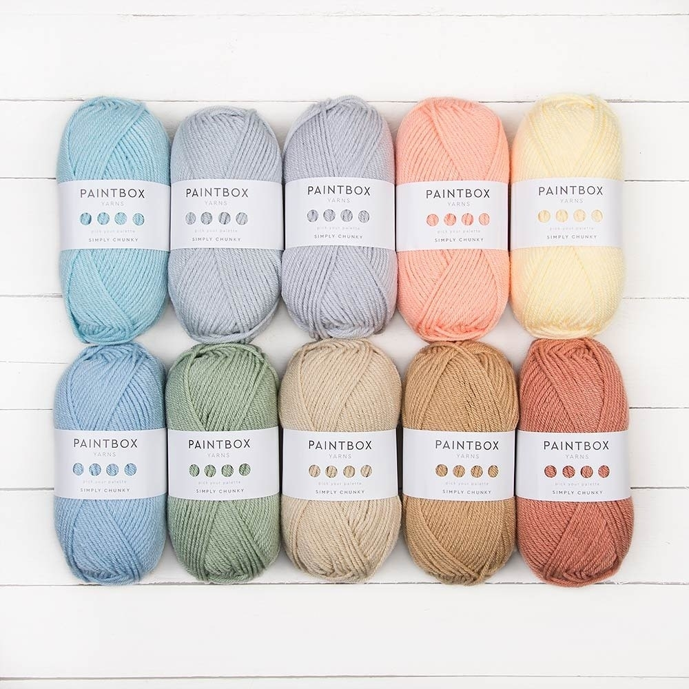 Paintbox Yarns Simply Chunky 10 Ball Color Pack