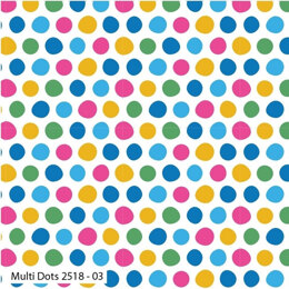 Craft Cotton Company Hot Air Balloon - Multi Dots