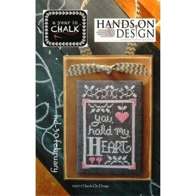 Hands On Design February: A Year In Chalk - HD30 -  Leaflet