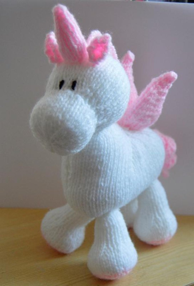 Stardust The Unicorn Soft Toy Knitting Pattern By Knitting