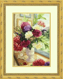Dimensions Gold: Counted Cross Stitch: Summer Bouquet - 11 x 14in