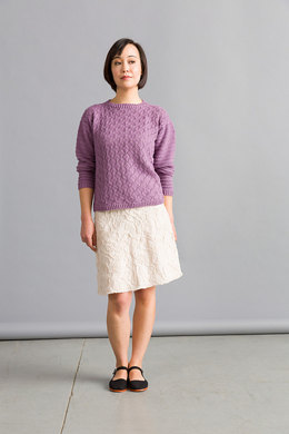 Fahrenheit Sweater in Classic Elite Yarns Soft Linen