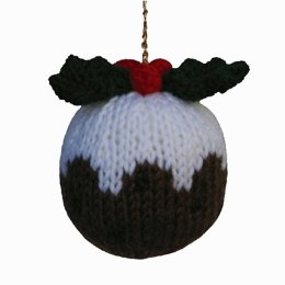 Knitables Christmas Pudding