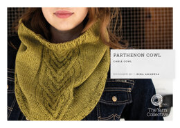 """Parthenon Cowl by Irina Anikeeva"" - Cowl Knitting Pattern For Women in The Yarn Collective"