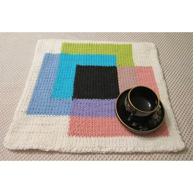 KGeometry: Placemat with Square Venn Diagram