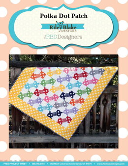 Riley Blake Polka Dot Patch - Downloadable PDF