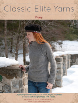 Flurry Pullover in Classic Elite Yarns Fresco - Downloadable PDF