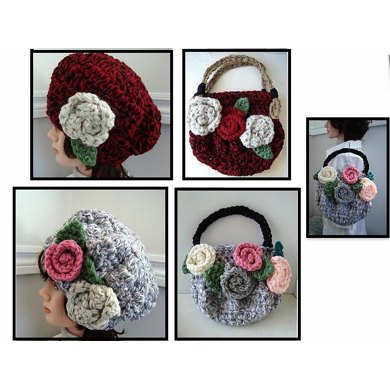 640 CHUNKY STYLE HAT AND BAG