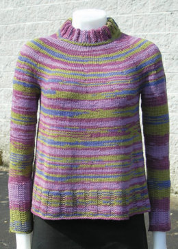 Running Circles Sweater in Knit One Crochet Too Ty-Dy Wool - 1650 - Downloadable PDF