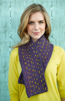 Simple Stitches Scarf in Lion Brand Wool-Ease - 90711AD