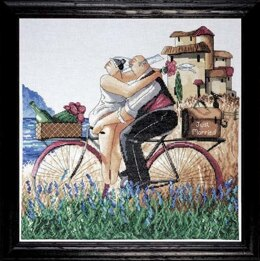 Design Works Just Married Cross Stitch Kit - Multi