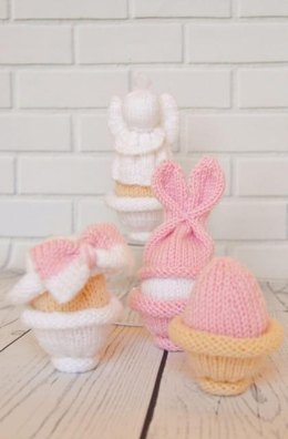 Knitted Egg Collection