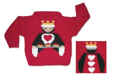 Queen of Hearts Sweater to Knit