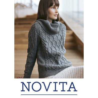 Sofi Sweater in Novita Nordic Wool - Downloadable PDF