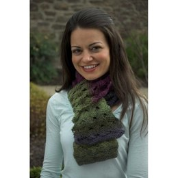 Scarf in Plymouth Gina - F428