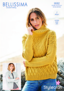 Jumper & Jacket in Stylecraft Bellissima - 9582 - Downloadable PDF